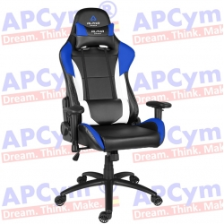 Silla Gaming Alpha Gamer Orion V2 Azul-Negra-Blanca