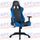 Silla Gaming Alpha Gamer Pulse Azul-Negra