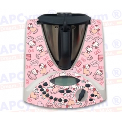 Vinilo Thermomix TM31 Completo Hello Kitty