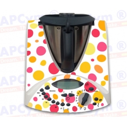 Vinilo Thermomix TM31 Lunares de Colores