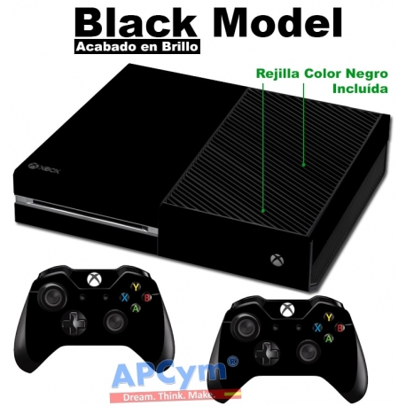 Vinilo Xbox One Negra