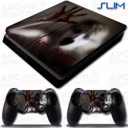Vinilo PS4 Slim Zombie Sangre Help Me