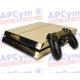 Vinilo Playstation 4 Oro Efecto Espejo