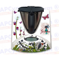 Vinilo Thermomix TM31 Insectos animales