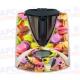 Vinilo Thermomix TM31 Botonera Dulces de Colores