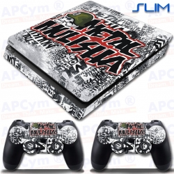 Vinilo PS4 Slim metal mulisha
