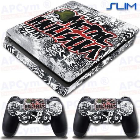 Vinilo PS4 Slim metal mulisha