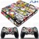 Vinilo PS4 Slim Stickers gta