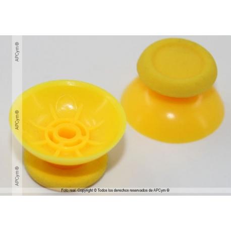 Joysticks PVC Mando PS4 amarillos