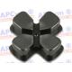 Dpad de Aluminio mando Ps4 Plata
