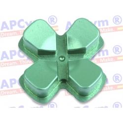 Dpad de Aluminio mando Ps4 Verde
