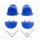 Gatillos PS4 L1 R1 L2 R2  azul oscuro + 2 Muelles