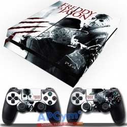 Vinilo Playstation 4 Freddy VS Jason