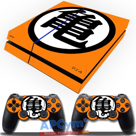 Vinilo Playstation 4 Simbolo Goku