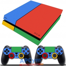 Vinilo Playstation 4 Google Design