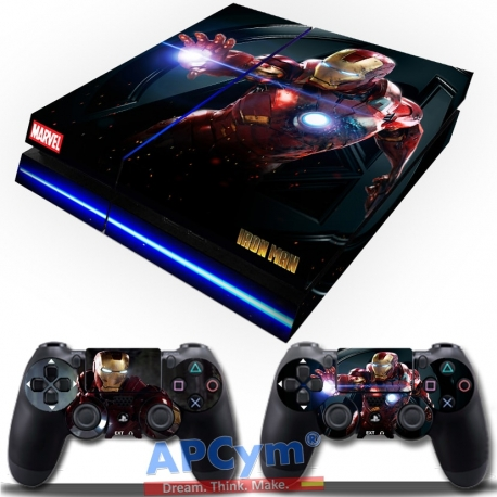 Vinilo Playstation 4 iron man