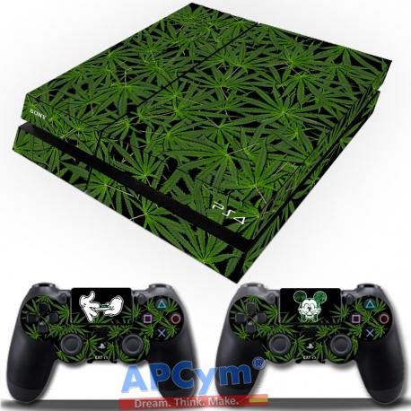 Vinilo Playstation 4 marihuana