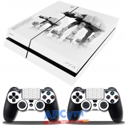 Vinilo Playstation 4 star wars battlefront at at