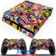 Vinilo Playstation 4 stickers repsol
