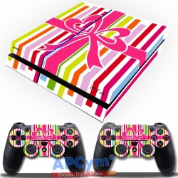 Vinilo Playstation 4 caja de regalo decorativa