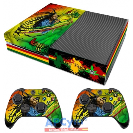 Vinilo Xbox One Bob Marley Reggae