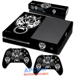 Vinilo Xbox One final fantasy wolf