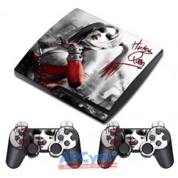 Vinilo PS3 Slim harley quinn