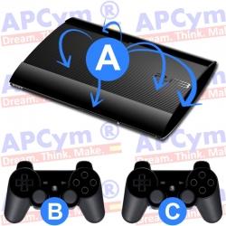 Personaliza tu Consola PS3 super slim Completa