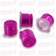 Botones Bala ps4 ps3 Aluminio rosa fucsia