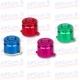Botones Bala Aluminio colores originales