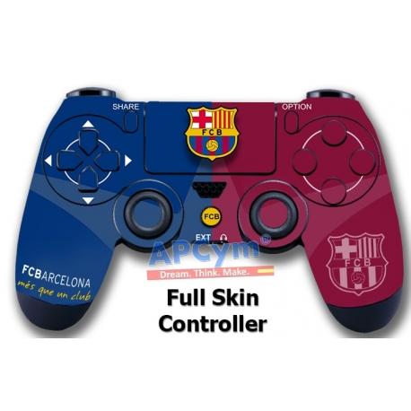 Vinilo Skin para Mando PS4 Completo barcelona