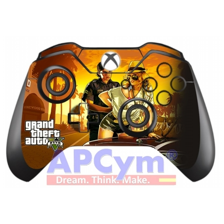 Vinilo Skin para Mando Xbox One GTA V NEW