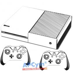 Vinilo Xbox One blanca lisa