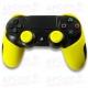 Funda Silicona PS4 amarilla Lisa