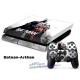 Vinilo Playstation 4 Modelo Batman Arkham
