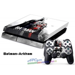 Vinilo Playstation 4 Modelo Batman Arkham