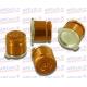 Botones Bala Aluminio oro