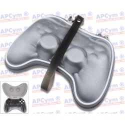 Estuche Protector Mando PS4 plateado