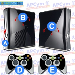 Personaliza tu Consola Xbox 360 slim