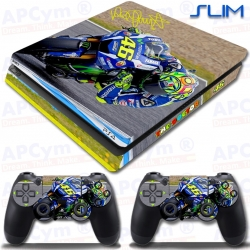 Vinilo PS4 Slim rossi doctor