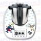 Vinilo Thermomix TM5 cocineros graciosos