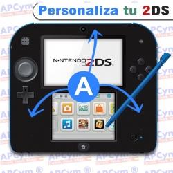 Personaliza tu Consola nintendo 2 ds