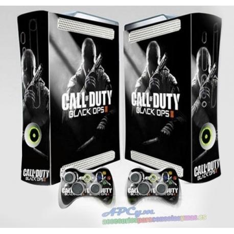 Vinilo Xbox Fat Modelo COD Black Ops 2