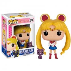 Sailor Moon & Luna Figura Funko POP! Vinyl