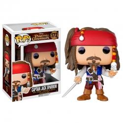 Piratas del Caribe Jack SparrowFigura Funko POP! Vinyl