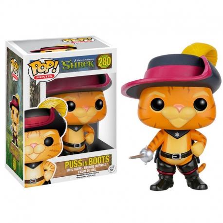 Gato con Botas Shrek Figura Funko POP! Vinyl