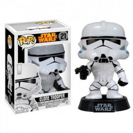 Bobble Head Clone Trooper Star Wars Figura Funko POP! Vinyl