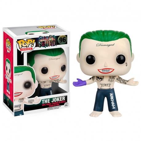 Joker Shirtless Escuadron Suicida Figura Funko POP! Vinyl