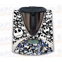 Vinilo Thermomix TM31 Calaveras Dark