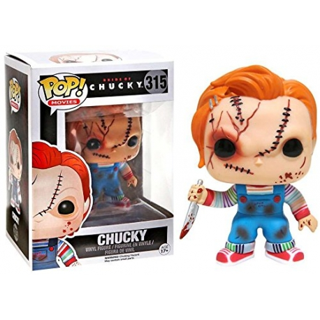 chucky cicatrices Figura Funko POP! Vinyl